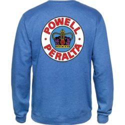 Sweat-shirt Powell Peralta Supreme couleur Royal Heather (bleu) back