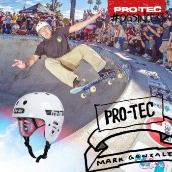 MArk Gonzales riding bowl for Pro-tec Helmet