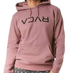 RVCA Flipped Pullover Hood Dusty Red