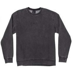 Sweatshirt RVCA Tonally Crew Sweater Black