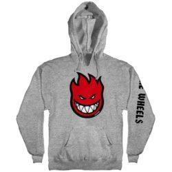 Sweat à capuche Spitfire Fill hoodie gris