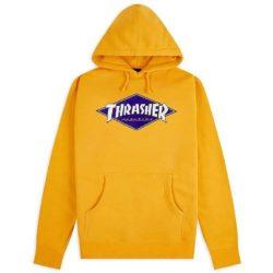 Sweat à capuche Thrasher Diamond Logo Hoodie jaune
