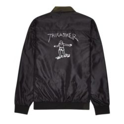 Veste reversible Thrasher Gonz Reversible Coach Jacket Noir back