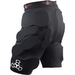 Short de Protection Skateboard Triple 8 Short Bumsavers Black