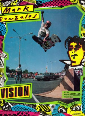 Vision Mark Gonzales 80's Ads
