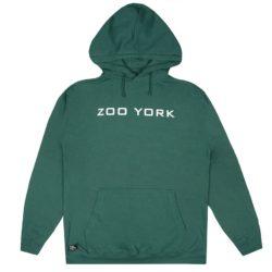 Sweat Capuche Zoo York Bank Logo vert