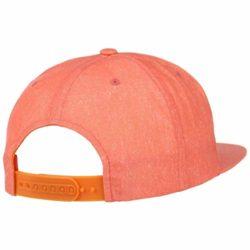 Casquette RVCA Unstructured Orange back