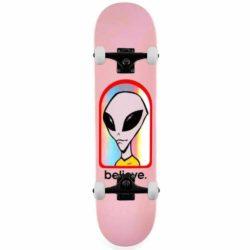 """Skateboard complet Alien Workshop Believe Hologram Pink 8.125"""""""