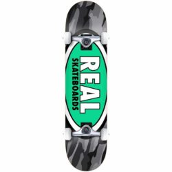 Skateboard complet Real Oval Camo XL Factory 8.25″