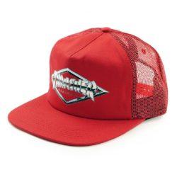 Casquette Trucker Thrasher Diamond Emblem rouge