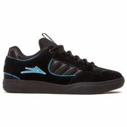 Chaussures de skate Lakai Mike Carroll noires