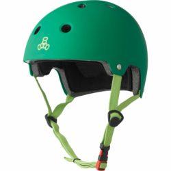 Casque Triple 8 Brainsaver vert