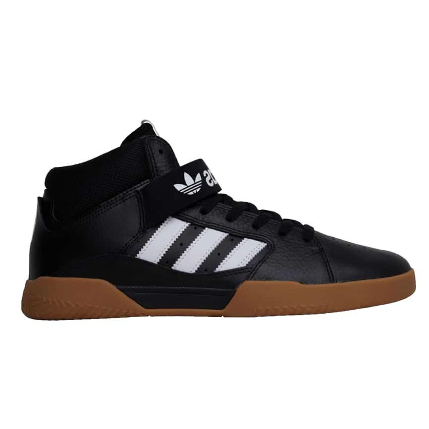 Adidas Vrx Mid | Chaussures de Skateboard Homme Noir | Skate.fr