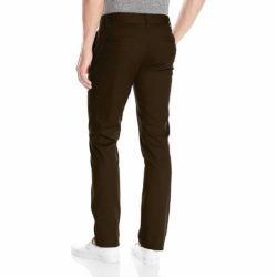 Pantalon Chino Brixton marron back