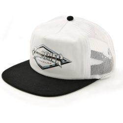 Casquette Thrasher Diamond Emblem blanche et noire