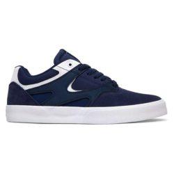 DC Shoes Kalis Vulc Navy White (bleu)