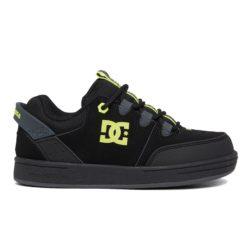 Chaussures de Skateboard enfant DC Shoes Pure Black Yellow