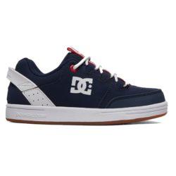 Chaussures de Skateboard enfant DC Shoes Pure Navy White