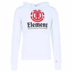 Sweat à Capuche Element Vertical Optic White (blanc)