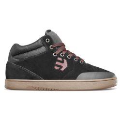 Chaussures Etnies Marana Mid Noir Rouge Gomme