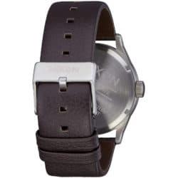 Montre Nixon Sentry Leather Dark Brown bracelet