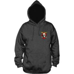 Sweat-shirt à capuche Powell Peralta Ripper charcoal