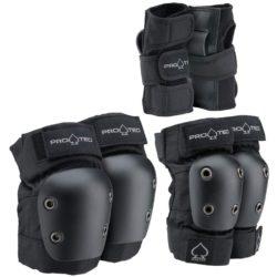 Set de Protections Pro Tec Street Gear noir pour Enfant