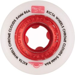 Ricta Wheels Chrome Clouds red 54mm