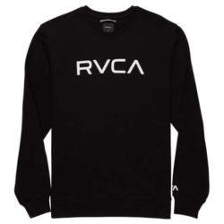 Pull à col rond RVCA Crew Sweat Big Black (Noir)