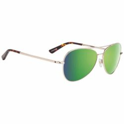 Lunettes Spy Optic Whistler Gold Happy Bronze Green Spectra