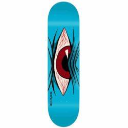 Planche de skateboard Toy Machine Mad Eye bleue deck 7.75″