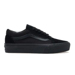 Vans Ward Platform Canvas Black Black (noires)