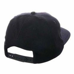 Casquette Thrasher Snapback Outlined Black (noire) 100% Coton et logo brodé back