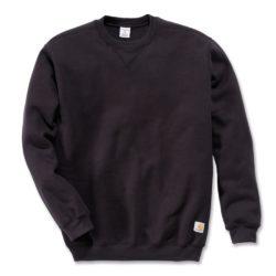 Sweatshirt Carhartt crewneck K124 noir