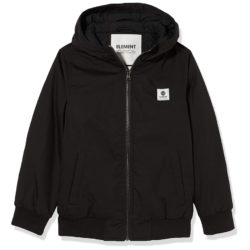 Veste déperlante Element Wolfeboro Dulcey flint black (noire)