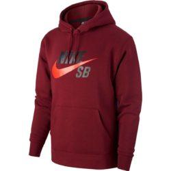 Sweat à capuche Nike SB Icon Hoodie Sweat à capuche Nike SB Icon Hoodie Beetroot/Chile Red