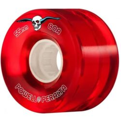 Roues Powell Peralta Clear Cruiser red 55mm / 80a