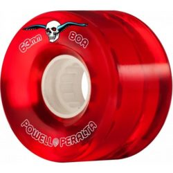 Roues Powell Peralta Clear Cruiser Rouge 63mm / 80a