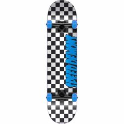 Skateboard Complet Speed Demons Checkers Blue 7.25″