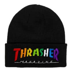Bonnet Thrasher Rainbow noir