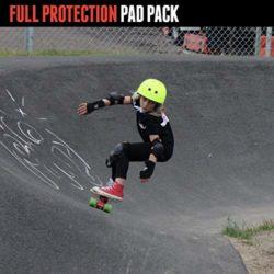 Set protections skateboard Triple Eight 3-Pack Jr High Impact Saver Series junior