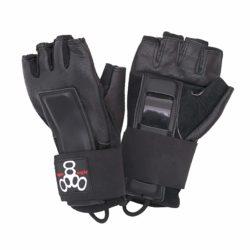 Protèges-poignets de skateboard gants Triple 8 Hired Hands