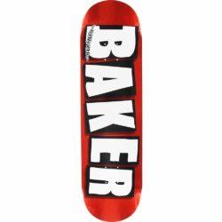 Baker Brand Logo Red Foil deck 8.25″