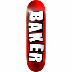 Baker Brand Logo Red Foil deck 8.5″