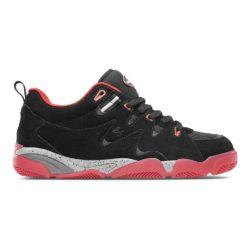 Chaussures de skate éS Symbol Black Red