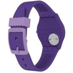 Montre femme Swatch Purple Poodle GV133 back