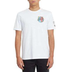 T-Shirt Volcom Freaks City Blanc