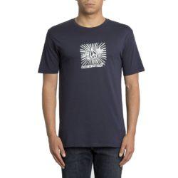 T-Shirt Volcom Prog Basic bleu pour Homme