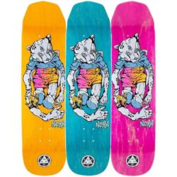 Welcome skateboards pro-model Nora Vasconcellos Teddy Wicked Princess deck 8.125″