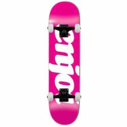 """Skateboard complet Rose Enjoi Flocked 8.0"""" débutants garçon et fille"""